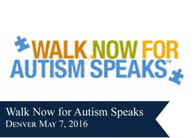 Walk Now for Autism Colorado