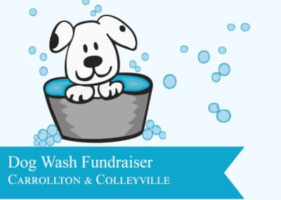 Dog Wash Fundraiser