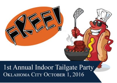 1st Annual Indoor Tailgate Party