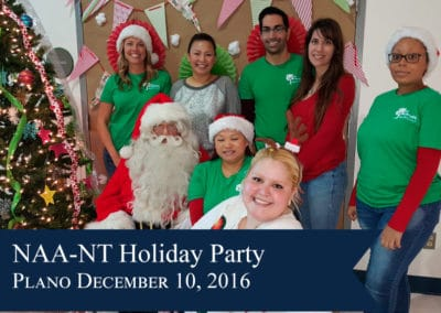NAA-NT Holiday Party