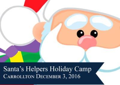 Santa's Helpers Holiday Camp
