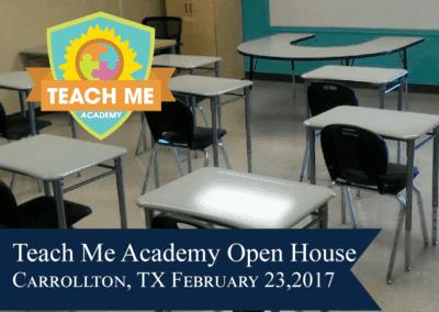 Teach Me Academy Open House