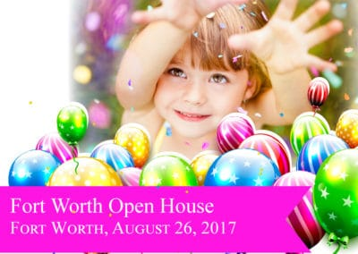 Fort Worth Open House