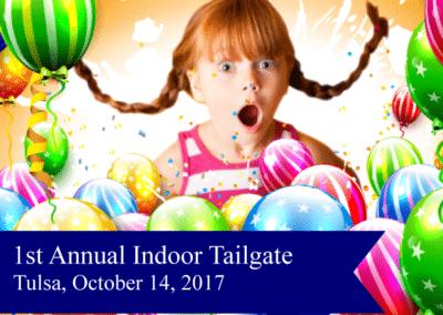 1st Annual Indoor Tailgate Tulsa