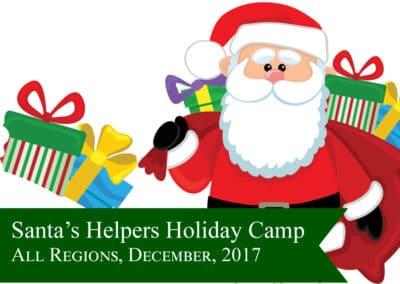 Santas Helpers Holiday Camp 2017