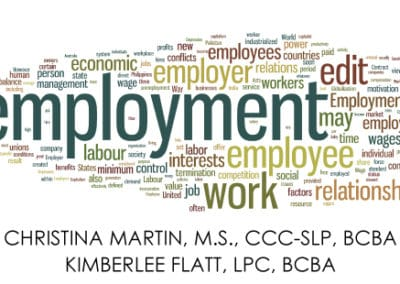 Social Skills and the Transition to Employment